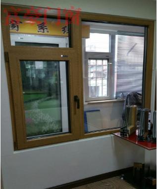 木塑铝样窗