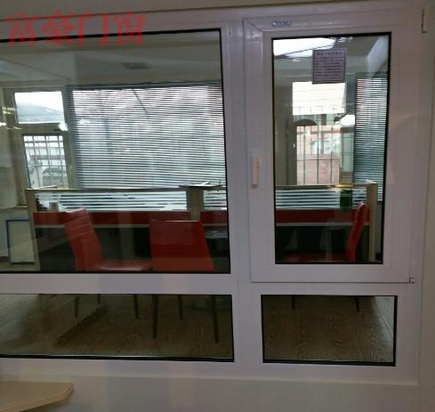 尊享高档塑钢样窗内白色