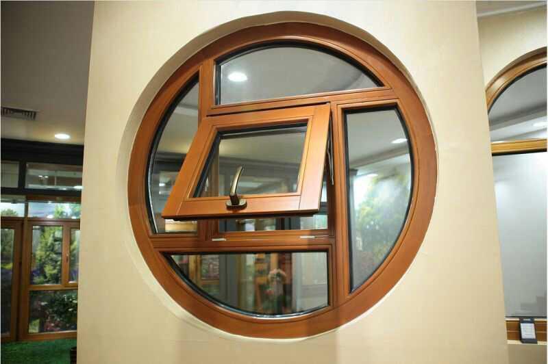 中高档铝包木门窗