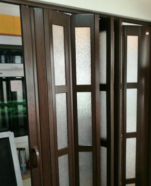 灵动折叠门隔断