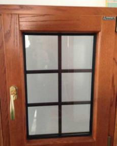 进口木材铝包木窗