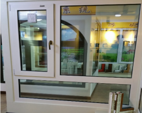 尊享高档塑钢白色方管钢衬样窗